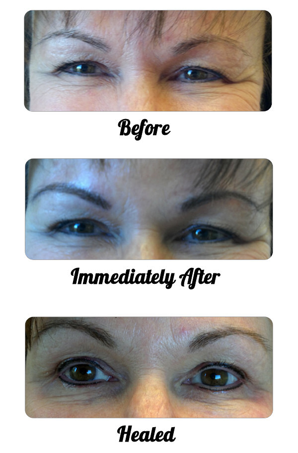 Traditional Fill Eyebrow (and Eyeliner) Treatment